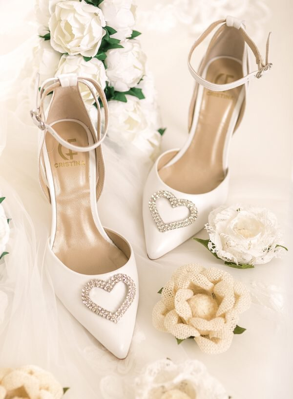 Sapato de Noiva em Pele