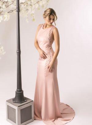 Vestido de Cerimónia Rosa Velho