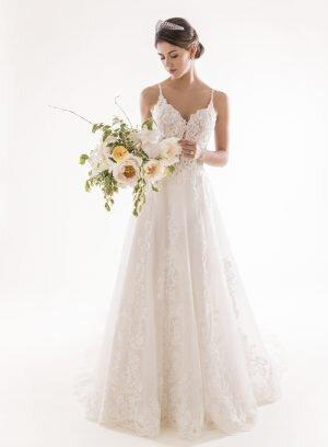 Vestido de Noiva linha A