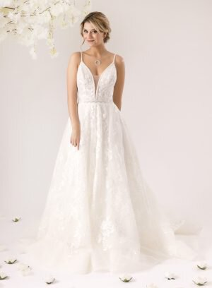 Vestido de Noiva em Corte A