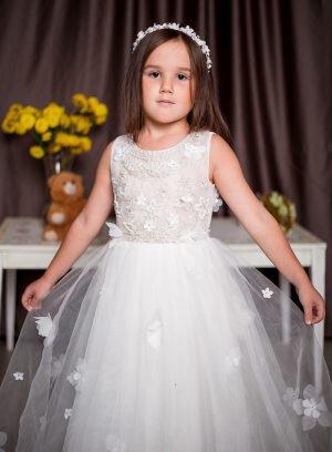 Vestido infantil corte princesa