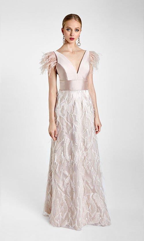 Vestido de Cerimónia Elegante