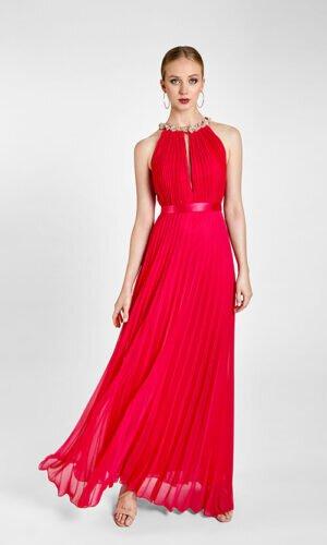 Vestido de Cerimónia Vermelho Comprido
